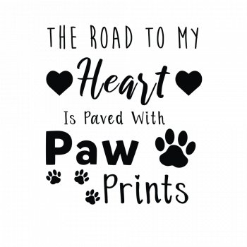 The Road to my Heart is paved with paw prints-02